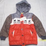2012冬装新款韩版男童棉衣加厚外套图片