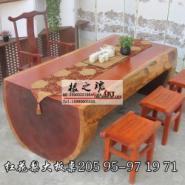 非洲红花梨茶桌图片