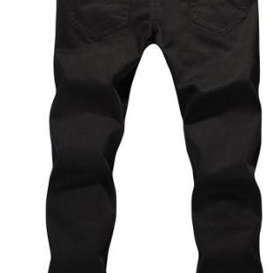 李牌男装直筒牛仔长裤图片
