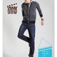 广州3001男式牛仔裤批发图片