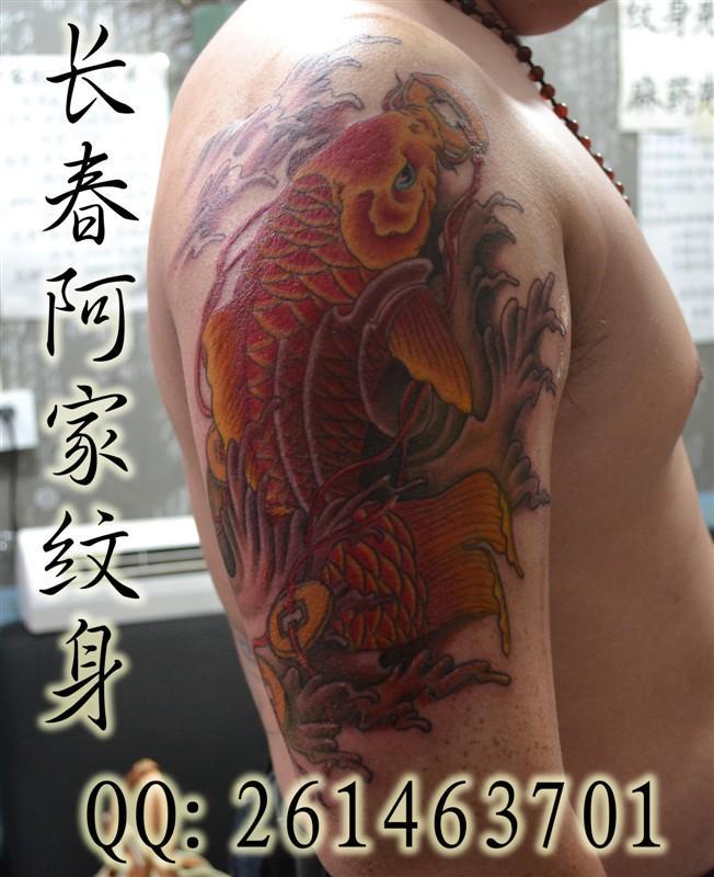 图案_图案供货商_供应鱼纹身图案大全