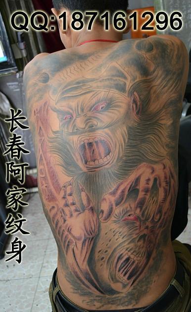 纹身图片 纹身样板图 长春钟馗纹身-长春阿家纹身图片