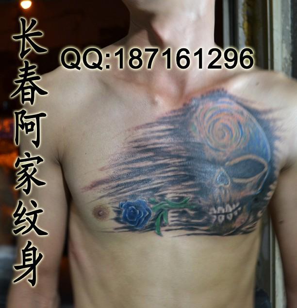 供应鬼纹身,鬼纹身图案图片