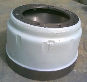 重汽豪沃09款后刹车鼓图片