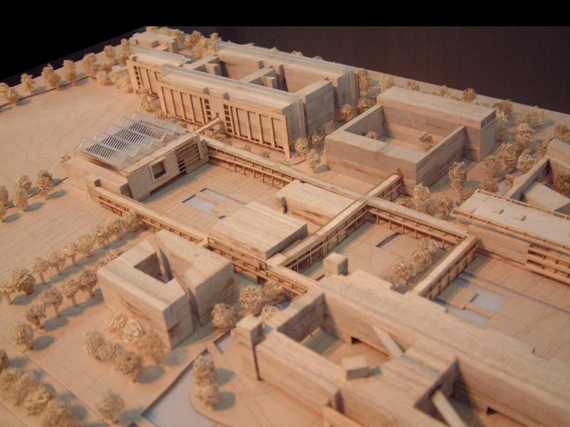 供应木质建筑模型