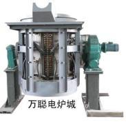 节能环保绿色钢壳KGPS中频炉图片