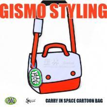 正版GISMO二次元包3D立体漫画包早安包潮女包包2012新款批发