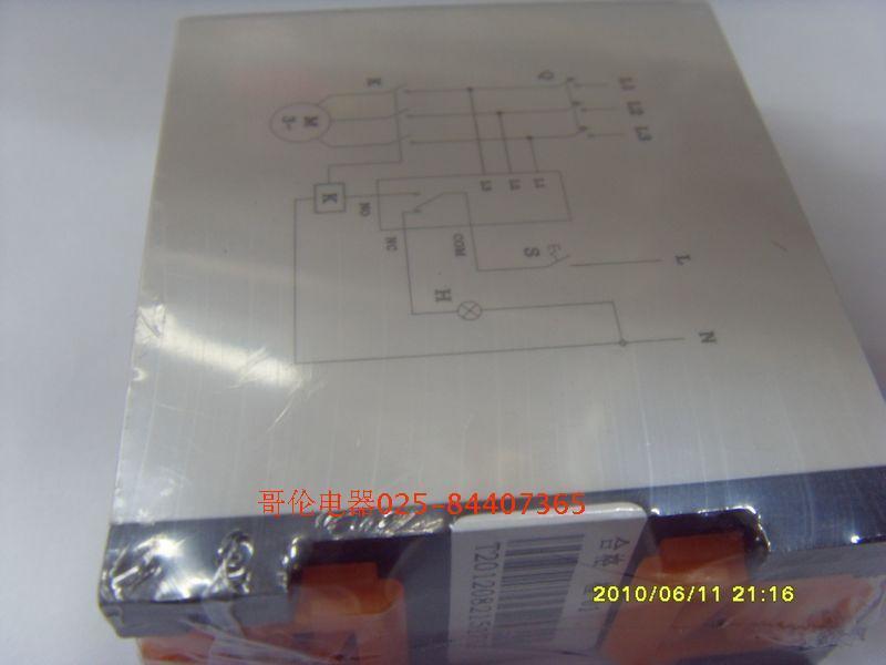 ...继电器样板图 Kailn断相与相序保护继电器TG30 南京哥伦电器...