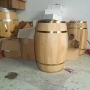 225L木制酒桶橡木酒桶松木酒桶厂家图片