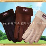 定做各种仿皮毛一体保暖手套图片