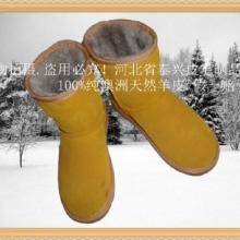 本厂专业制作澳洲皮毛一体优质羊皮雪地靴各种皮毛一体优质羊皮制品图片