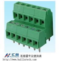 生产螺钉式固定连接器PCB焊接端子3.81间距双层端子
