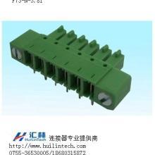 生产反向插座插拔方向与PCB平行3.81mm