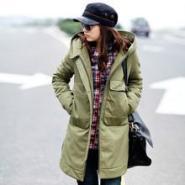 外套加厚棉衣女装韩版中长款图片