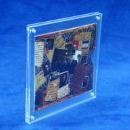 供应亚克力相框有机玻璃相框磁铁相框