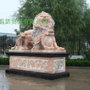 石雕动物狮子麒麟貔貅等图片
