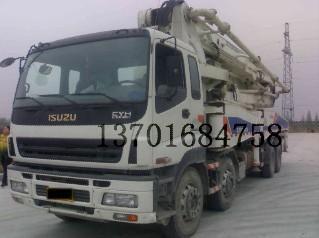 二手混凝土泵车图片/二手混凝土泵车样板图 (1)