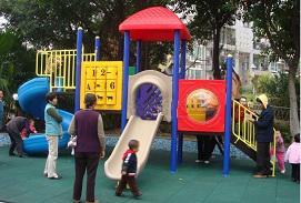 儿童游乐设施组合滑梯地垫