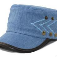 2013新款韩国帽子水洗牛仔帽图片