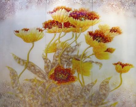 背景墙艺术玻璃酒店形象墙_背景墙艺术玻璃酒