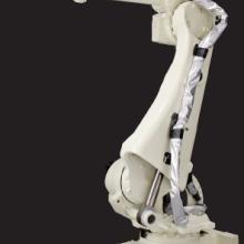 供应车灯涂胶机器人