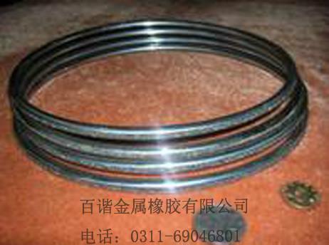供应金属橡胶密封圈密封性好可反复使用耐高低温使用寿命20年