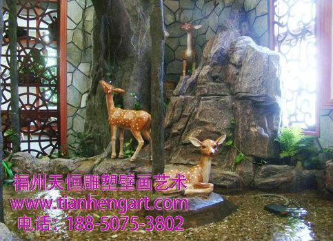 南平展馆雕塑