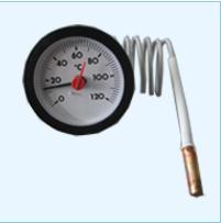 代理菲索毛细管温度压力表THMK52图片