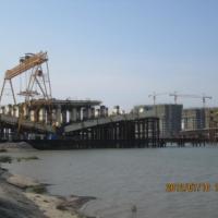 栈桥的设备工程施工