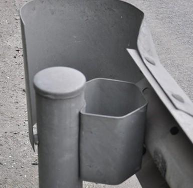 护栏板端头图片/护栏板端头样板图 (1)