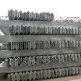 供应山东热镀锌三波护栏板方管产生厂家高速公路三波护栏板厂家报价