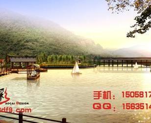 杭州效果图制作大桥效果图图片
