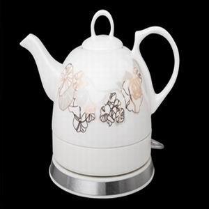 供应陶瓷电热水壶批发 湖南电热水壶、保温壶可印刷定做厂价批发