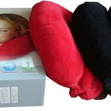 单模式U型按摩枕/毛绒保健午休枕/电动U形枕/粒子U型按摩枕汽车枕