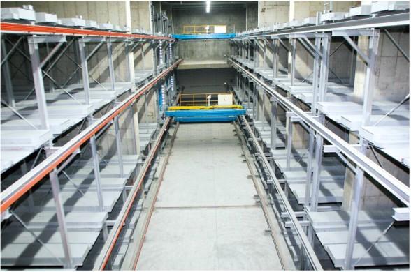 立体车库的结构框架及其特点          1.