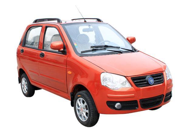 电动汽车图片 电动汽车样板图 富路e360b电动轿车图片 高清图片