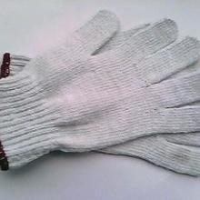 供应厦门棉纱针织手套 黑纱手套 灯罩纱手套