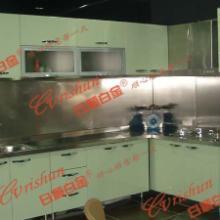 整体不锈钢橱柜 不锈钢家用橱柜 不锈钢厨房 淄博不锈钢厨房
