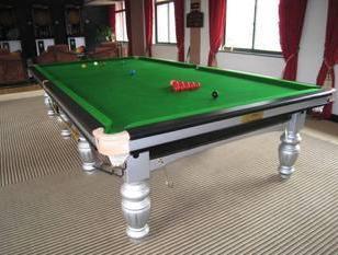 苏州金迪英式台球桌图片