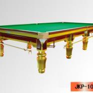 金色英式台球桌图片
