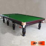 巧克力色英式台球桌图片