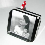 供应亚克力有机玻璃像框磁铁相框生产