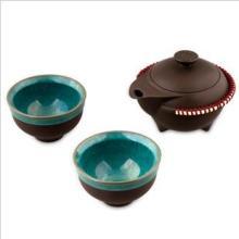 陶瓷茶具礼品茶具套装玄禅幽壶--台湾邓丁寿经典陶瓷茶具批发