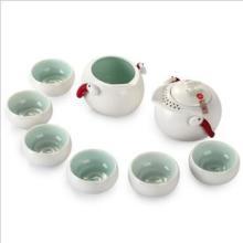 陶瓷茶具礼品茶具套装碧波流翠--由台湾大师设计的陶瓷茶具批发