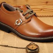 广州皮鞋贴牌加工生产厂家图片