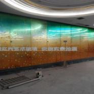 商业写字楼洒店大堂家装艺术玻璃图片