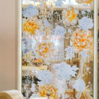 供应艺术玻璃隔断玄关 家居装饰材料的新宠,晶莹剔透,80后的最爱