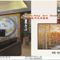 供应大堂酒店电视背景墙艺术玻璃18620671146优质优服价格实惠