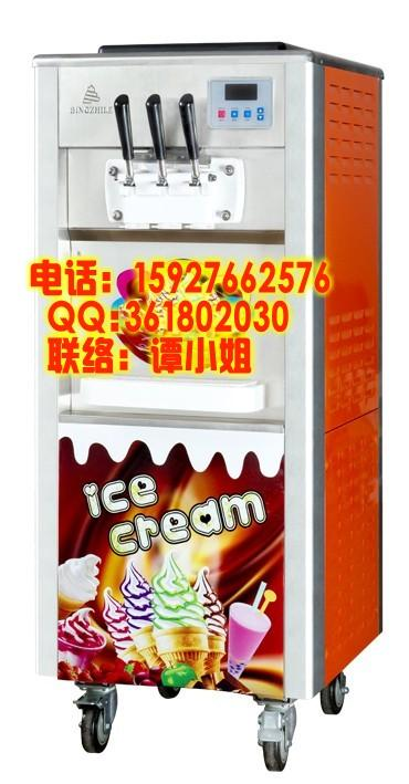 供应孝感冰淇淋机三色冰淇淋机供应