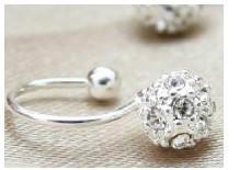925纯银镶锆石钻石专业定制、纯银镶锆石加工零售、纯银镶锆石钻石批发商图片